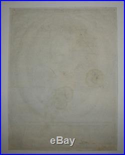 17ème Portrait de MICHEL LE TELLIER Gravé par NANTEUIL en