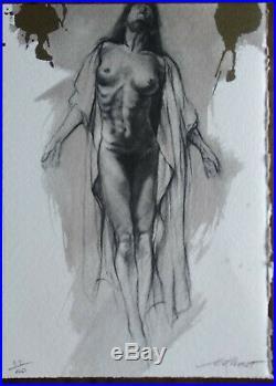 (3) Ernest PIGNON ERNEST lithographie numérotée (x/40) et signée