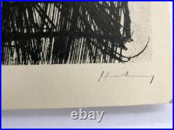 3 Lithographies Hans Hartung, Saul Steinberg, chagall