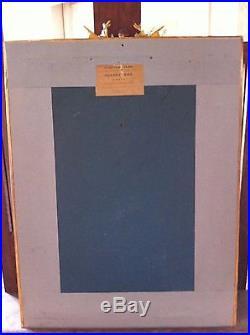 ACTE CONSTITUTIONNEL présenté au peuple français. LITHO DE 1793 Cadre Doré