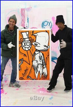 ANDRE x FUTURA 2000 Chez Nous Orange 2018 60 EX LIMITED kaws banksy