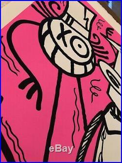ANDRE x FUTURA 2000 Chez Nous Pink 2018 60 EX LIMITED kaws banksy Seth