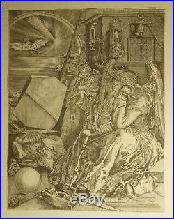 Albrecht DURER (après) La mélancholie Gravure