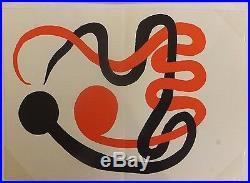 Alexandre Calder Composition 1973 Lithographie pour Revue Derrière le Miroir