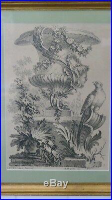 Alexis Peyrotte, Ornemaniste, Estampe Vase Rocaille, Editeur Guérinet Vers 1900
