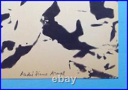 André-Pierre ARNAL (1939) lithographie de 1968 Signée Ecole de Nice RAYSSE KLEIN