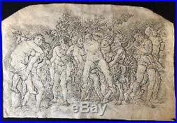 Andrea Mantegna (1431-1506) Bacchanal with Silenus 1470 1480 Italia