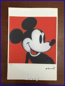 Andy Warhol Lithographie CM 57x38 Leo de Châteaux Georges Istrael