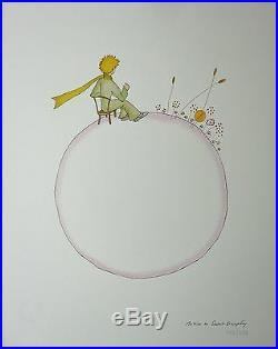 Antoine de SAINT-EXUPERY Le Petit Prince 12 lithographies signées