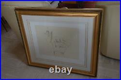 BALTHUS Lithographie La sieste 1994 Signée & numérotée