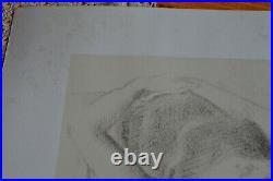 BALTHUS Lithographie Lithographie JEUNE FILLE Signée et numérotée