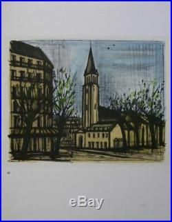 BUFFET Bernard 10 LITHOGRAPHIES PARIS #1967 #MOURLOT