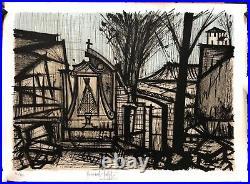 BUFFET Bernard Lithographie Originale Expressionnisme Signée Numérotée Peinture