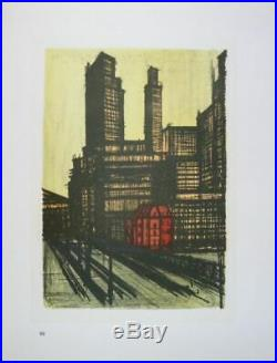 BUFFET Bernard NEW YORK CITY (10 LITHOGRAPHIES) 1967 #MOURLOT
