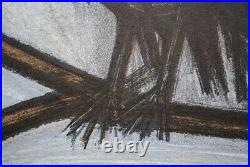 BUFFET Bernard le petit Hibou LITHOGRAPHIE originale signée, MOURLOT, 1967