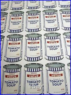 Banksy Tesco Soup Cans Offset