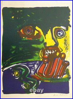 Bengt LINDSTROM (1925-2008) lithographie Composition P1839
