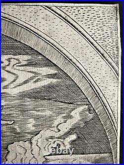 Burin de Marcantonio RAIMONDI daprès Dürer