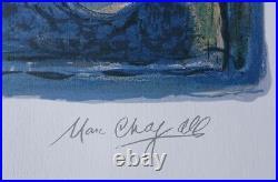 CHAGALL Marc (d'après) Les mariés LITHOGRAPHIE numérotée et signée, 500ex