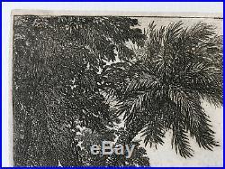CLAUDE LORRAIN Eau-forte originale Radierung Etching gravure (Mannocci 11)