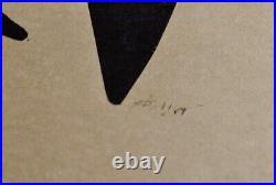 Cardenas Augustin, Linogravure RARE originale signée 1959/ ART