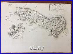 Carte geographique ancienne Coronelli L'île De Ré 1698