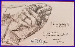 Charles Édouard JEANNERET LE CORBUSIER faire-part estampe gravure lithographie