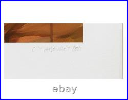 Claire Tabouret Original Print Self-Portrait on Hahnemuhle Signed Numbered 2021
