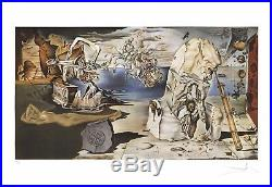 DALI Salvador (D'aprés) Lithographie Lapothéose d'Homère 62 x 90 cm
