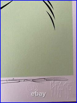 DFace- Sérigraphie Originale Signée Et Numérotée CARELESS WHISPER (PURPLE)