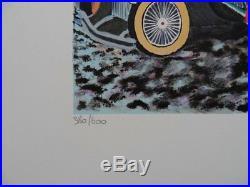 DILLEY Ramon Les années folles LITHOGRAPHIE originale signée, 600ex