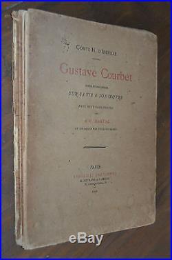 D'Ideville Courbet estampes Manet A. P. Martial 1878