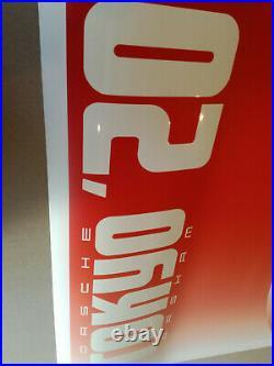 Daniel Arsham Tokyo'20 Poster Crystal Eroded Porsche
