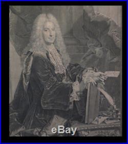 ECONOMIE FINANCES RIGAUD (Hyacinthe) / LEPICIE Philibert ORRY. 1737