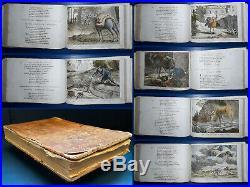 ENFANTINA La Fontaine Fables Choisies 52/54 figures 1818 Tardieu-Denesle Rare