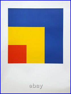 Ellsworth KELLY Red, yellow, blue, lithographie, 2005