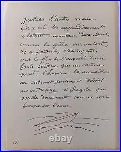 Fernand Léger lithographie Le cirque Circus Deux équilibristes 1950