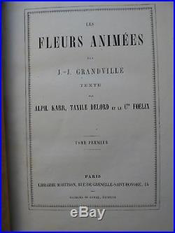 Fleurs animees Granville sans date (apriori edition de 1857)