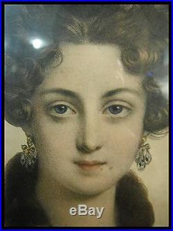 GREVEDON Pierre-Louis dit Henri (1776-1860) GRAVURE ELEGANTE du XIX° signé