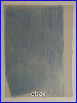 Genevieve Asse Lithographie originale signée
