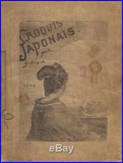 Georges Bigot. Croquis Japonais. 1886. 28 estampes. Tokio