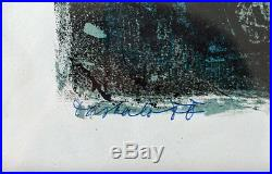 Georgi DASKALOFF (1923-2005) Lithographie signée en bas à gauche