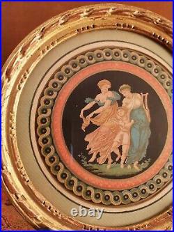 Gravure Ronde A l'Antique Style XVIII° Epoque Début XX°