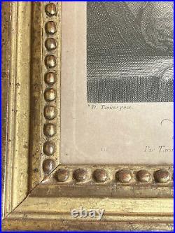 Gravure ancienne Le Docteur Alchimiste par David TENIERS époque XVIIIe