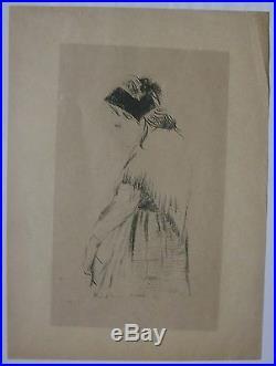 Gravure lithographie Paul SERUSIER. Souvenir de Bretagne L'Epreuve 1895