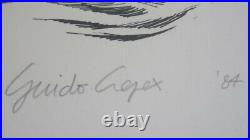 Guido Crepax Valentina Grande lithographie couleur, signée et numérotée