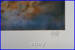Guy RIBES Nu féminin Lithographie Originale Signée