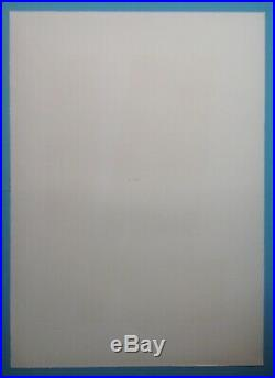 Hans HARTUNG Lithographie Originale 105x75cm 1973 Signée au crayon Lyrique 46ans