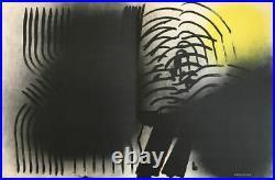 Hans Hartung Farandole, 1971, Lithographie originale signée