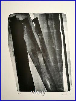 Hans Hartung L-18-1976 Lithographie Originale Erker HC Top